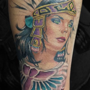 Color-Woman-Headdress-Calf-BSpickard