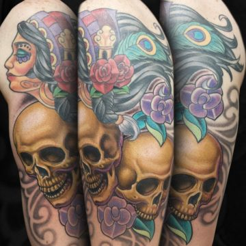 Colorful-Gypsy-Skulls-Arm-BSpickard