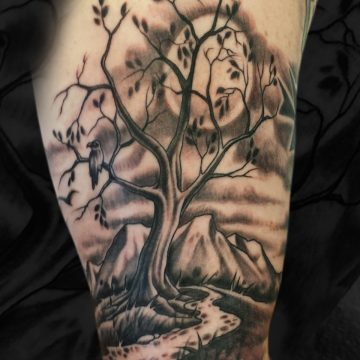 Grayscale-Tree-Bicep-BSpickard