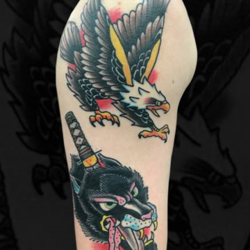 Traditional-Eagle-Wolf-Arm-VSmith